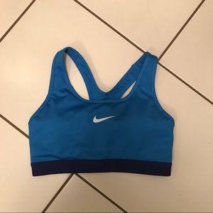 Nike Cobalt Blue Sports Bra